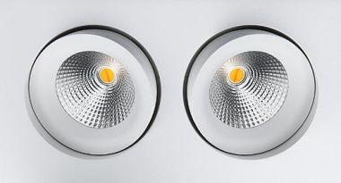 GYRO ISOSAFE DIMTOWARM 2X6W LED 2000-2800K (S9)