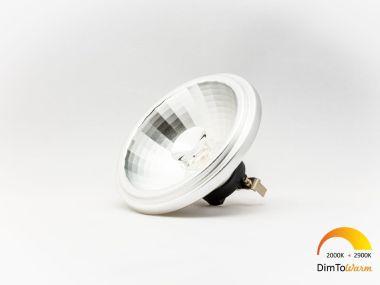 LED AR111 12W 35° 12V DIM to warm 2900K-2000K