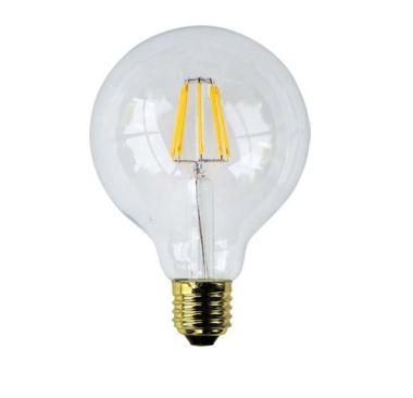 FILAMENT LED GLOBE 95 7.5W E27 690lm 2700K 15H  DIM CRI>90