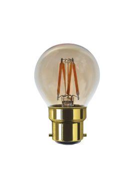 LED GOLF BALL CLEAR 24V 2000 K B22 200 LM