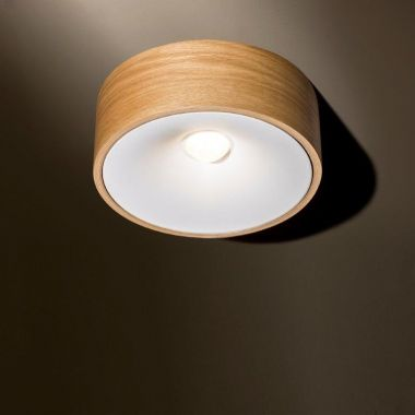 [DALSGAARD] JAMES SURFACE MOUNTED MAINS DIMMABLE OAK + WHITE