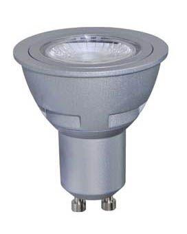 LED GU10 50MM - ALU - 230V / 5W DIM 3000K
