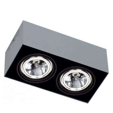LOOK OUT DOUBLE 2X QR111 ? 100W GREY/BLACK