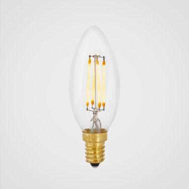 CANDLE LED BULB E14 4W CLEAR