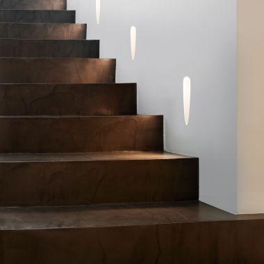 OLYMPUS TRIMLESS LED TEXTURED WHITE