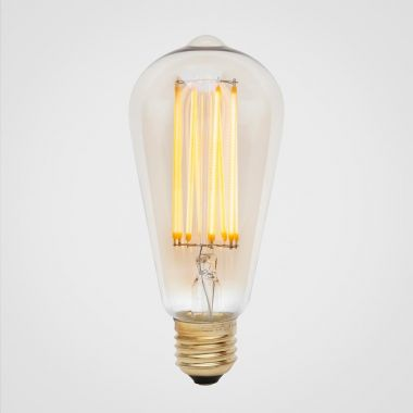 SQUIRREL CAGE LED BULB E27 3W TINTED