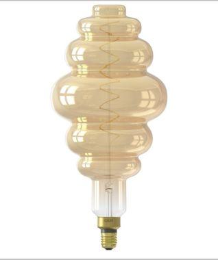 XXL PARIS LED LAMP 240V 6W 350LM E27 LS200, GOLD 2200K DIMMA