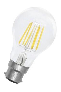 LED Classic GLS A60 B22d 220V 8.5W CL