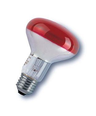 R80 60W/230/VWFL/E27 RED LTD