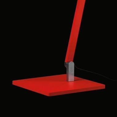 ROXXANE OFFICE, BASEPLATE STEEL, RED (NEON) RAL 3026, MATT,