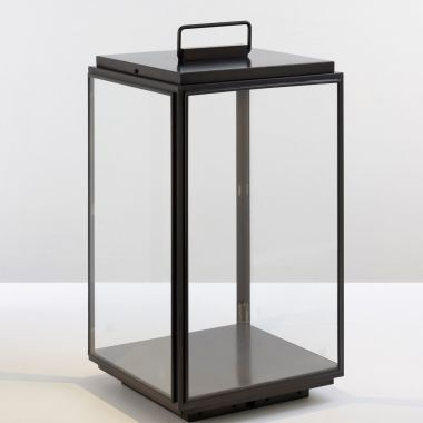 ILFORD FLOOR LARGE ON BATTERY DARK BRONZE CLEAR GLASS