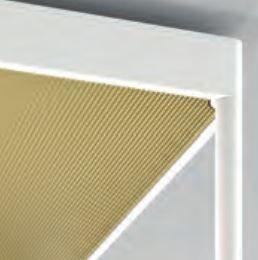 REFLEX² REFLECTOR M PLEXIGLAS PYRAMID GOLD