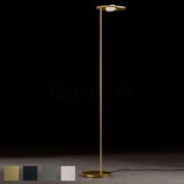 "LED FLOOR LAMP ""NOVA OOG"",  2X TOUCH DIM"