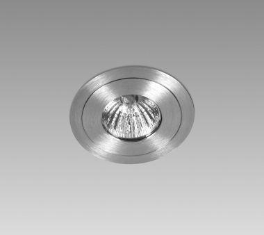 DUO 1X MR16 ? 50W / LED MR16 12V ALU BRUSHED