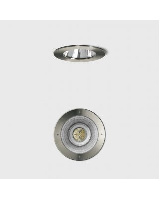 RECESSED CEILING LUMINAIRE, INDOOR- AND OUTDOOR, RVS