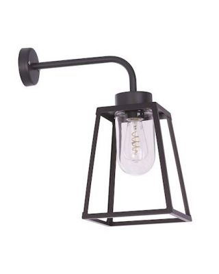 WANDLICHT LAMPIOK MODEL 5 E27 HELDER GLAS IP65 - EXCL. LAMP