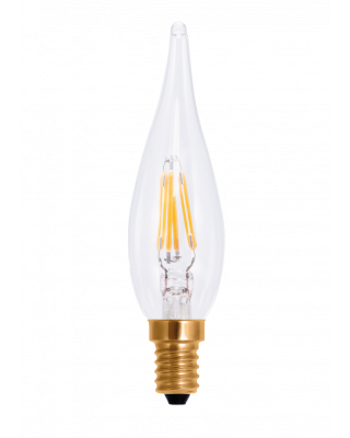LED FRENCH CANDLE CLEAR 2200 K E14 60 LM