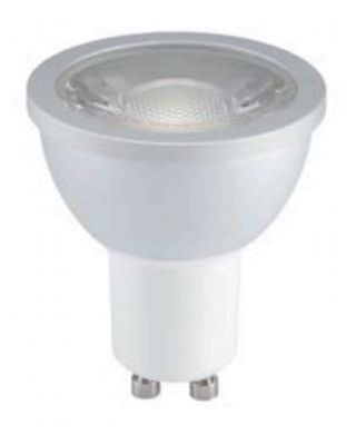 LED-spot GU10 2700K 7W 36° AC230V COB CRI80 Dimmable