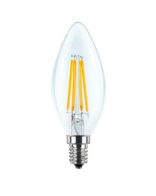 LED CANDLE CLEAR 2700 K E14 340 LM