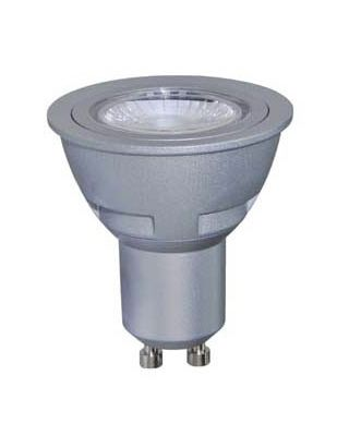 LED GU10 50MM - ALU - 230V / 5W DIM 3000K
