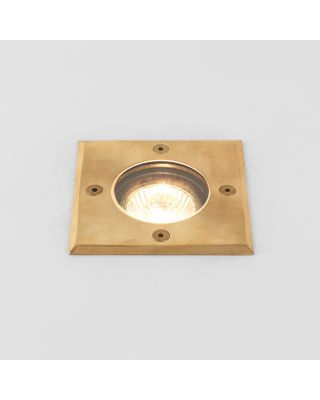 GRAMOS SQUARE COASTAL LED SPOT BRASS GU10