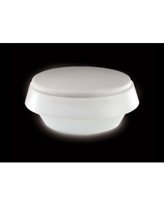 GIO LIGHT POUF WIT - INTERNO DIAM.145 H.48 AT.I2