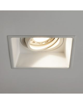 MINIMA SQUARE ADJUSTABLE FIRE-RATED WHITE