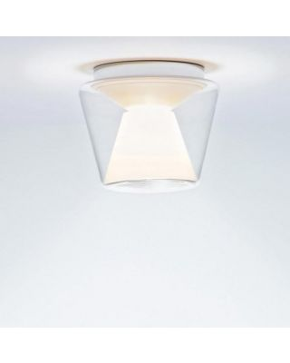 ANNEX CEILING LED M GLASS SHADE CLEAR, REFLECTOR OPAL
