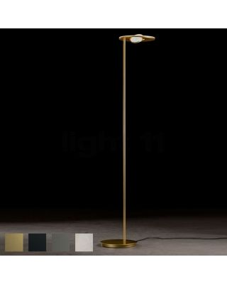 "LED FLOOR LAMP ""NOVA OOG"",  2X TOUCH DIM"