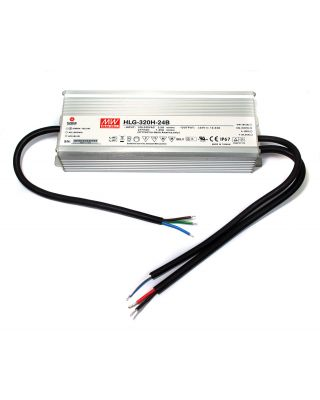 LED DRIVER 320W 24V IP67 DIM 1-10V