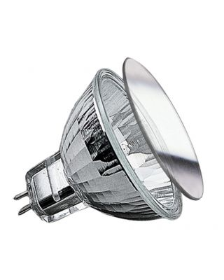 HAL.REFL.SECURITY 20W GU5,3 12V ZILVER