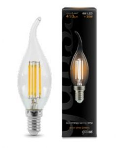 E14 LED 4W CANDLE CLEAR TIP 410LM 2700K 35000H