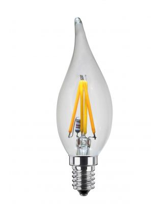 LED CANDLE WINDBLOW 3.5W FROSTED 2000K-2900K 220LM