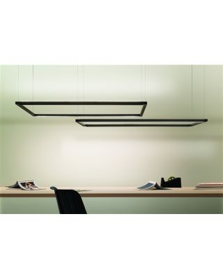 SPIGOLO HORIZONTAL LED BLACK
