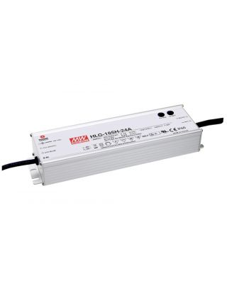LED DRIVER 185W 24V DIMBAAR 1-10V IP67