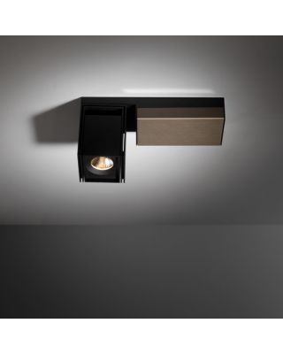 REKTOR LED 2700K MEDIUM GI BLACK STRUC - SMOKED BRONZE