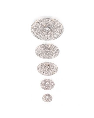 CRYSTAL WATERS CEILING LAMP ROUND