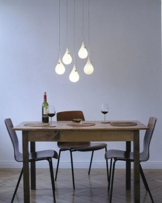 DROP 2 XS CHANDELIER - LED 2,5W, DIMMABLE (BULB INCL.)