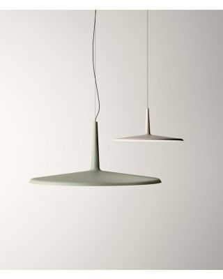SKAN HANGING LAMPS MATT WHITE LACQUER DIMMABLE