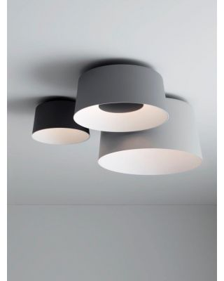 TUBE CEILING TRIPLE WHITE