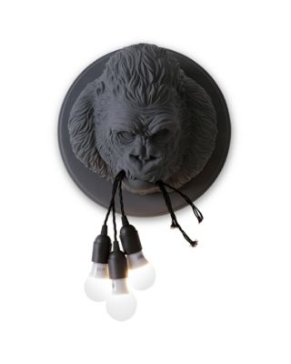 UGO RILLA WALL LAMP MATT GREY 3XE27