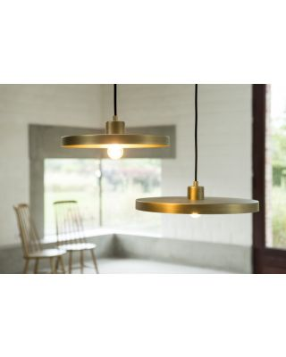OLLY SUSPENSION RUBBED BRASS