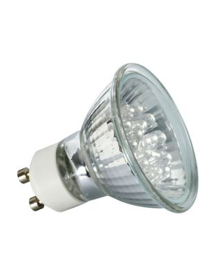 LED REFLEC. 15°  1W GU10 230V 51MM WARMWIT